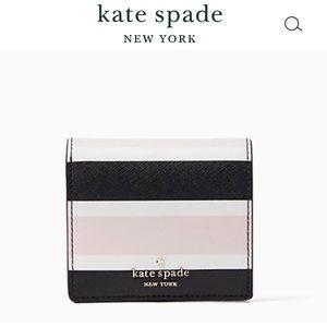 ♠️ NWT Kate Spade Mini Wallet, Pink & Black!